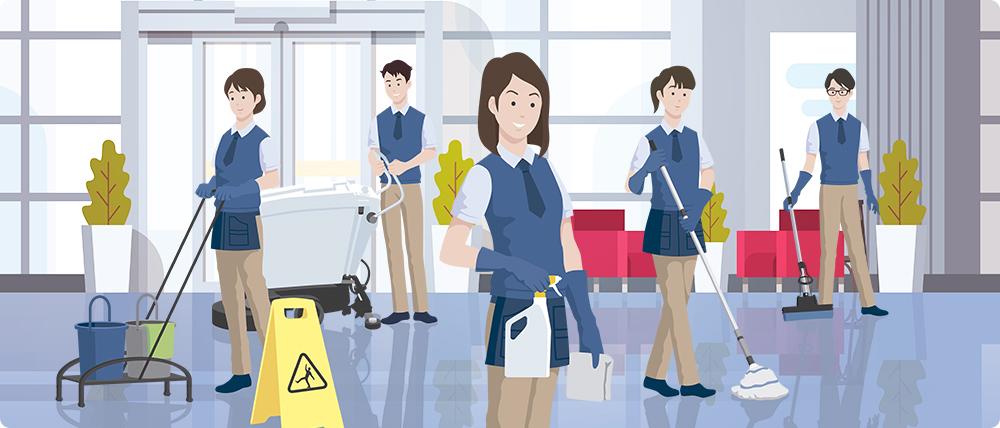 清掃業務で大成が選ばれている理由