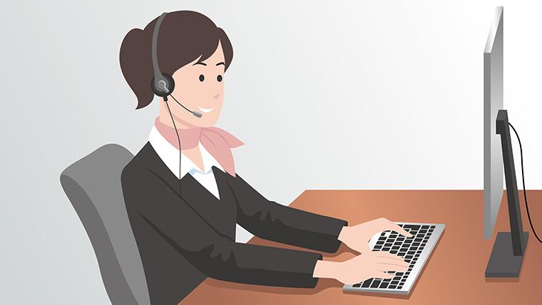 電話交換業務