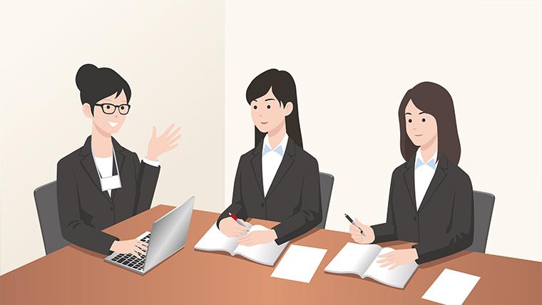 受付業務の研修